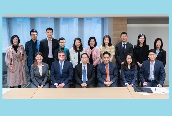 HKGFA executive committee and working group meeting